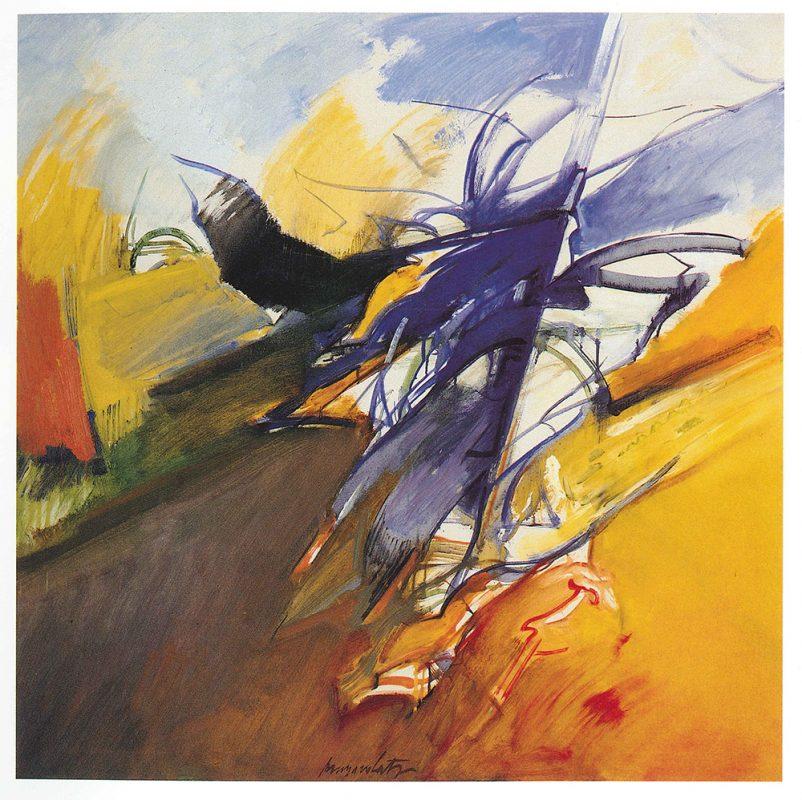 Pittore italiano Cesco Magnolato espressionista a suo modo