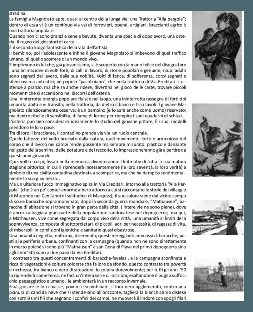 Cesco Magnolato - la sua storia: La formazione 2