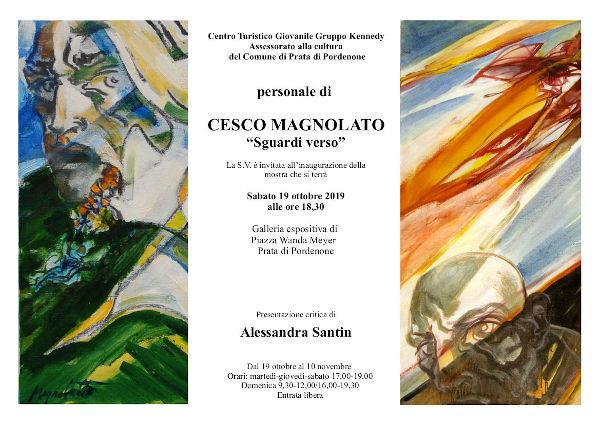 mostra pittura Cesco Magnolato