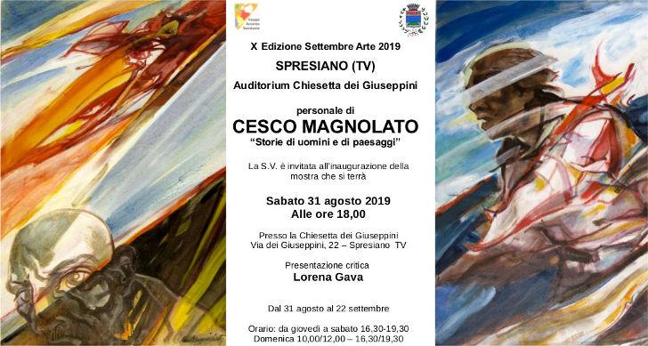 Mostra di Cesco Magnolato a Spresiano
