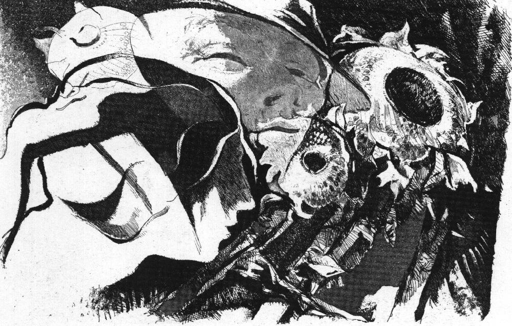 Incisione - Del nero e bianco - Cesco Magnolato